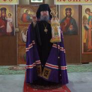 Божественная литургия в кафедральном соборе святых равноапостольных Кирилла и Мефодия города Сальска